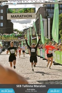 Priit Kallas marathon