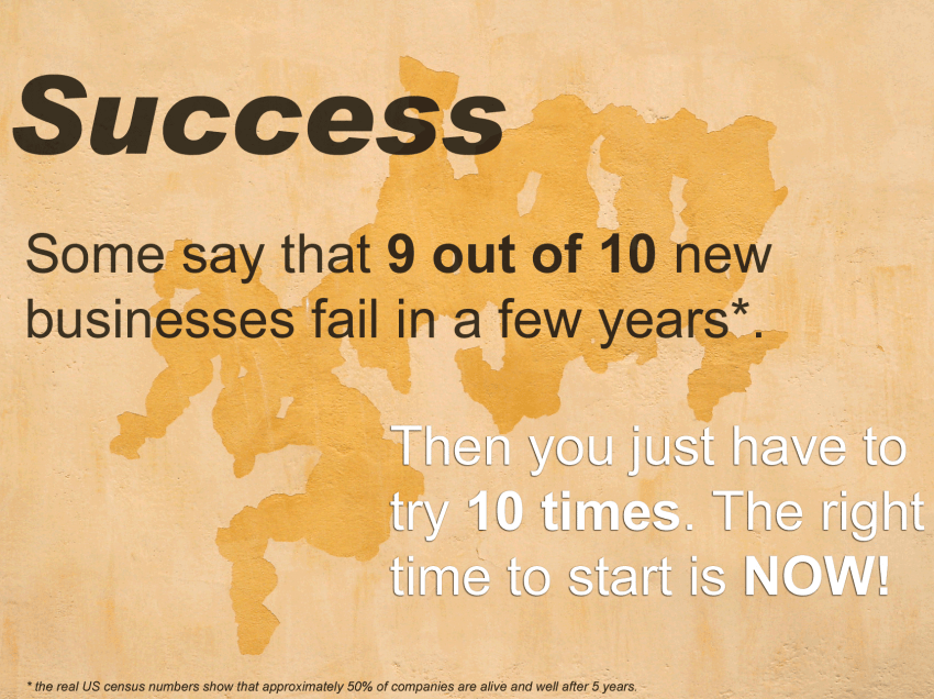How to Succeed if 9 in 10 Businesses Fail?
