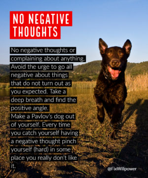 30-day challenges no negative thoughts