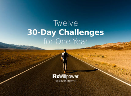 Twelve 30-Day Challenges for You [2020 IDEAS]