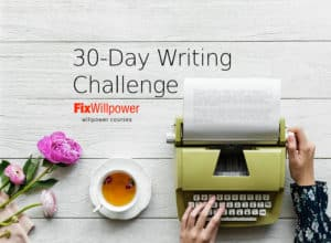 30-Day Writing Challenge course