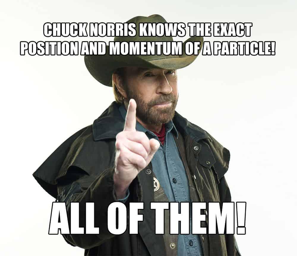 Chuck Norris uncertainty