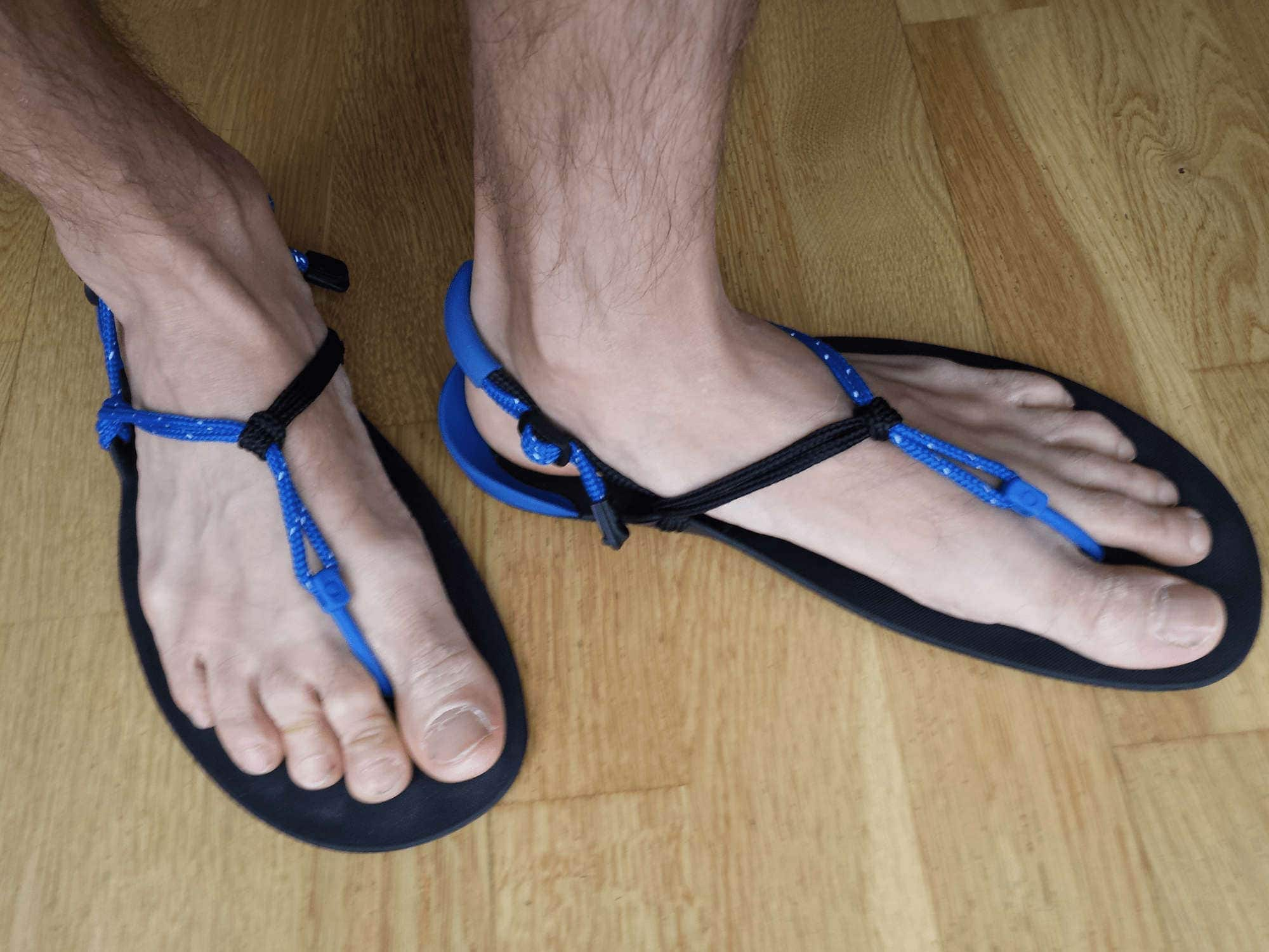 f2b25d8aceca Huaraches Sandals  First 3 Miles in Running Sandals -  FixWillpower