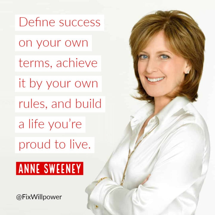 Anne Sweeney success quote