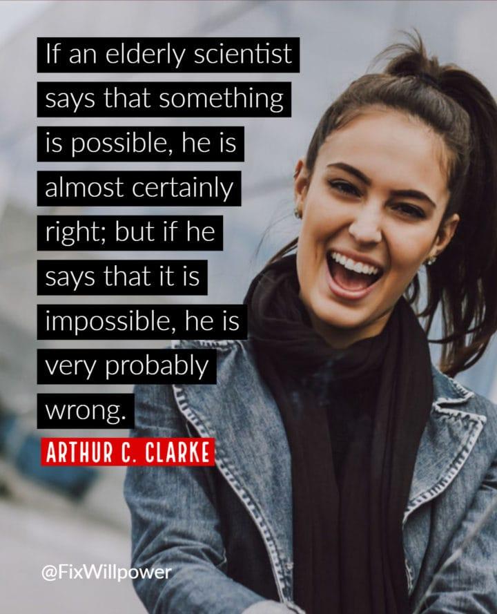 arthur clarke quote