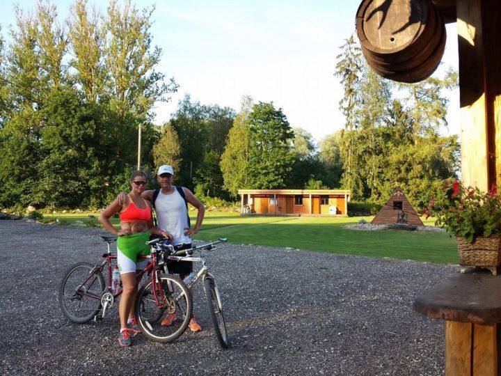 Around the lake Võrtsjärv on a bicycle