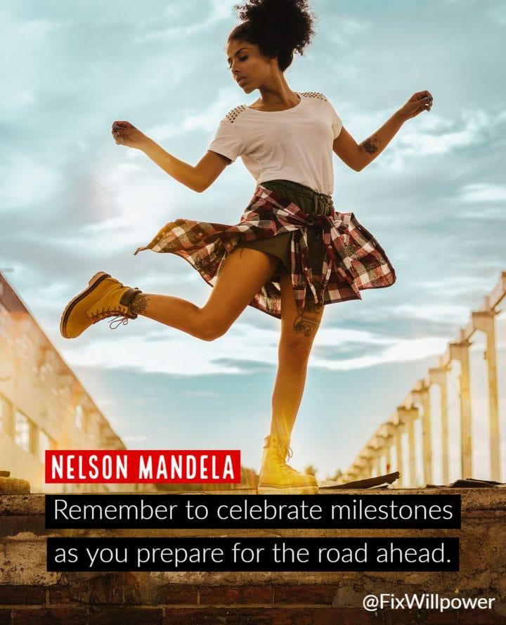 celebrate dancing Mandela