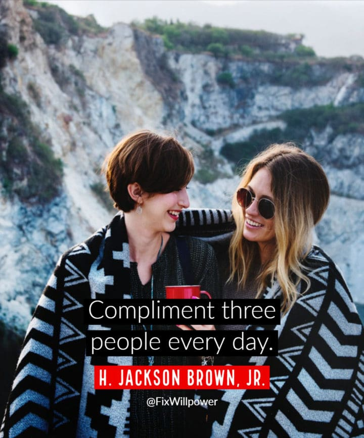 compliment quotes Jackson Brown