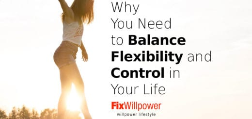 Control and Flexibility in Your Life