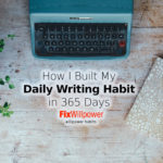 My Daily Writing Challenge in 1,000+ Days