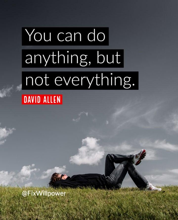david allen productivity