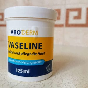 first ultra running vaseline