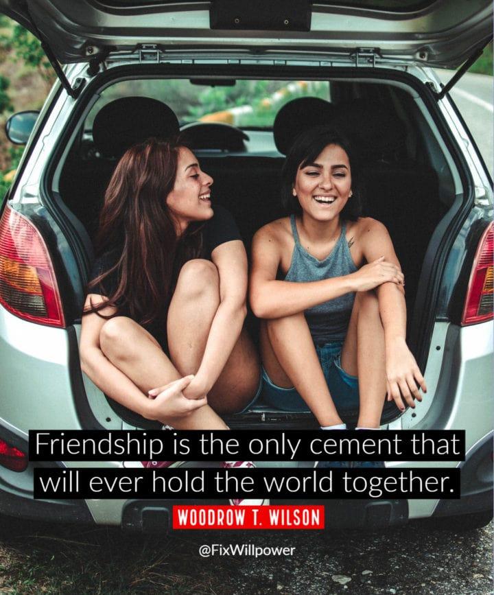 frienship quote wilson