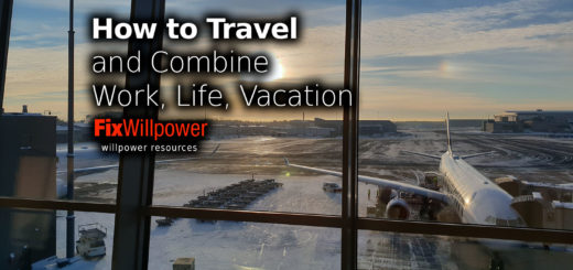 how to travel and work