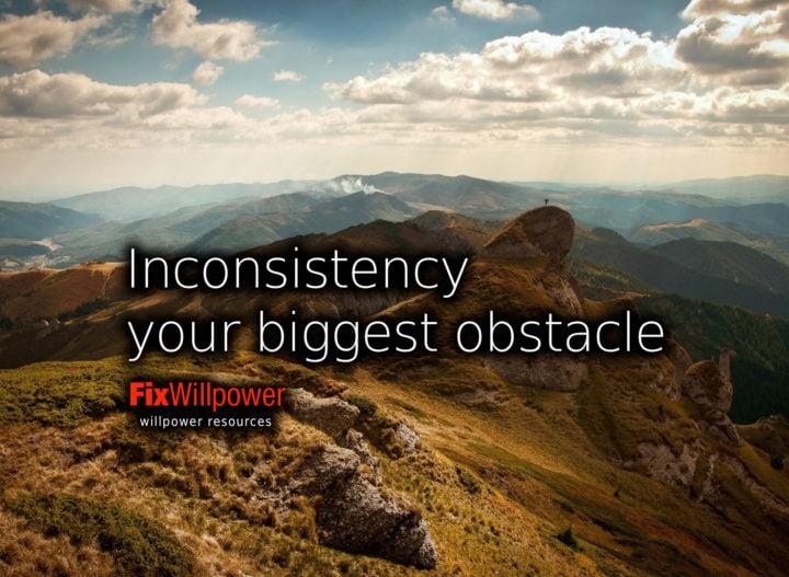 inconsistency willpower