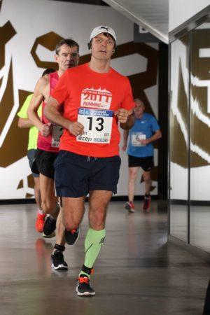 indoor marathon running