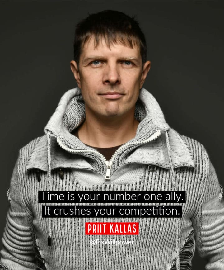 Priit Kallas time quote