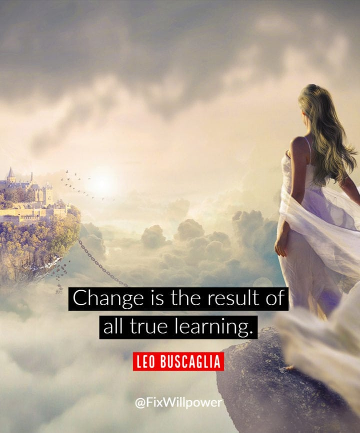 learning quote buscaglia