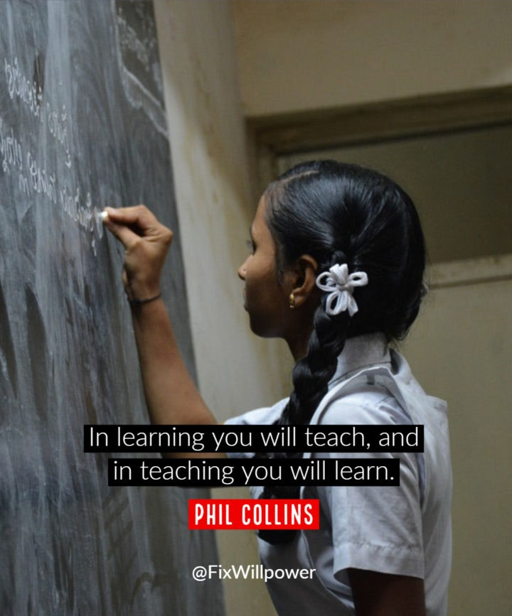 learning quote collins