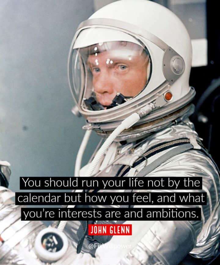 list of hobbies quotes Glenn