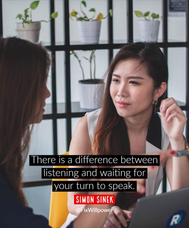 listening quotes Sinek