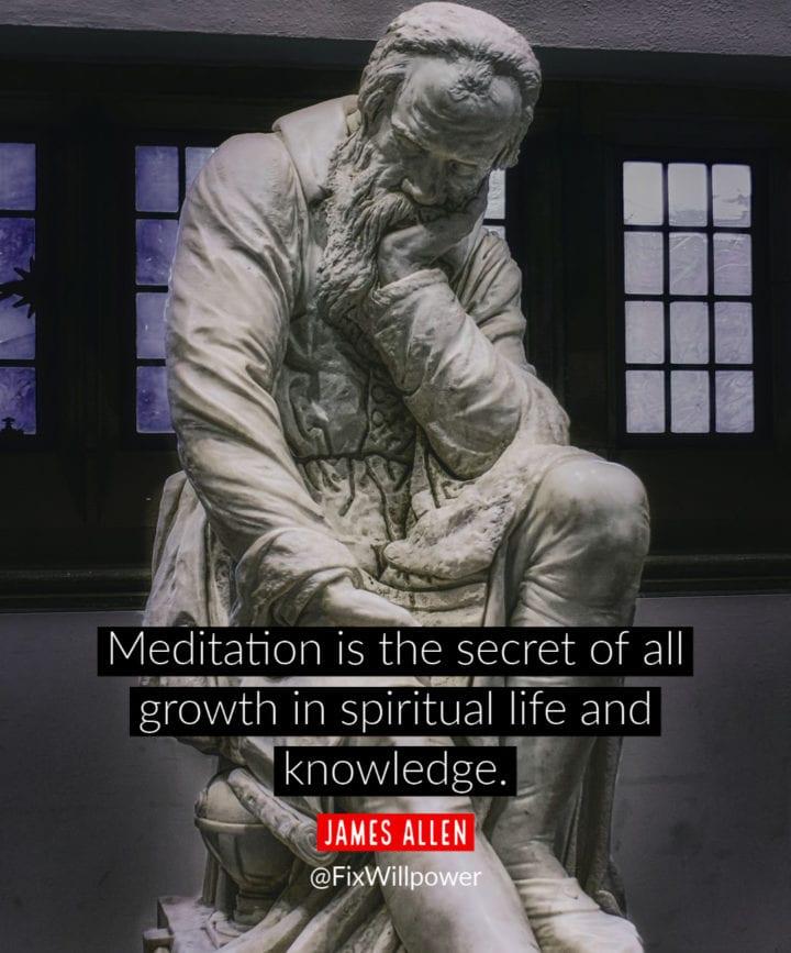 meditation experience allen