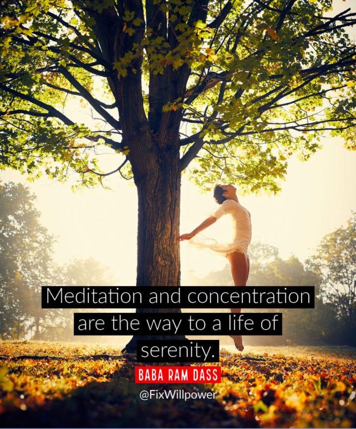 meditation experience dass