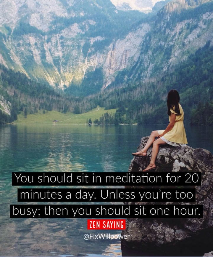 meditation experience quote