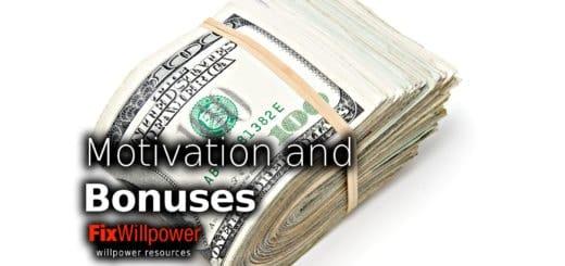 motivation bonuses