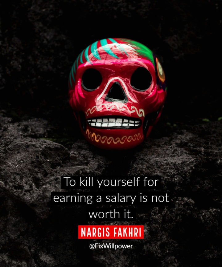 motivation bonuses quotes Fakhri