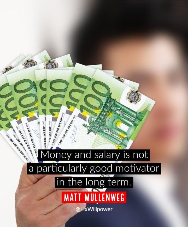 motivation bonuses quotes Mullenweg