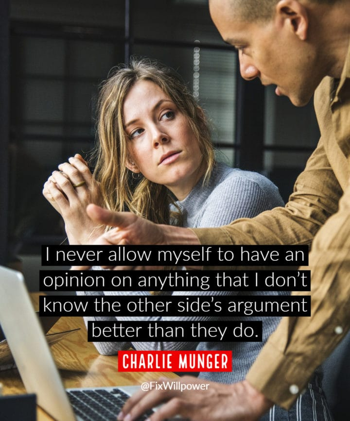 Munger quote different perspective