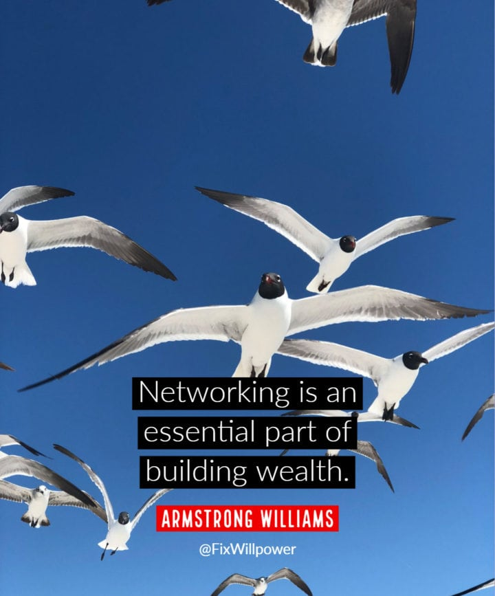 networking quotes Williams