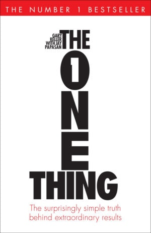 one thing book