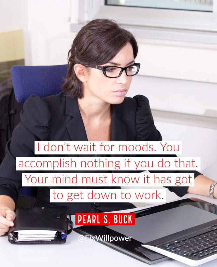 pearl buck willpower quote