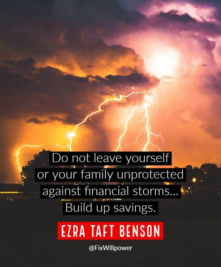 personal emergency funds quotes Benson