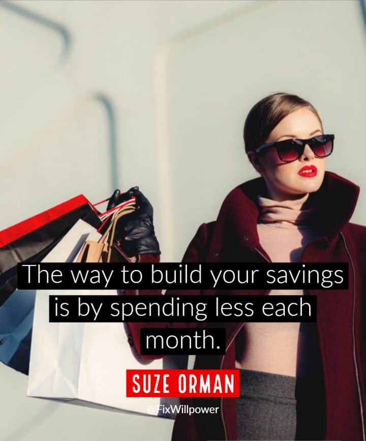 personal emergency funds quotes Suze Orman