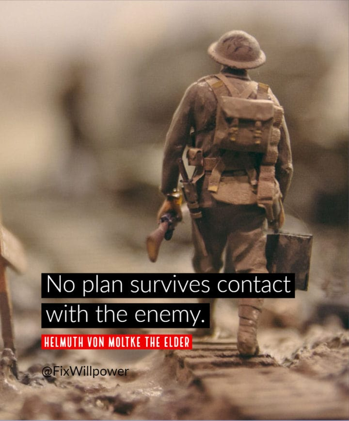 plan enemy quote