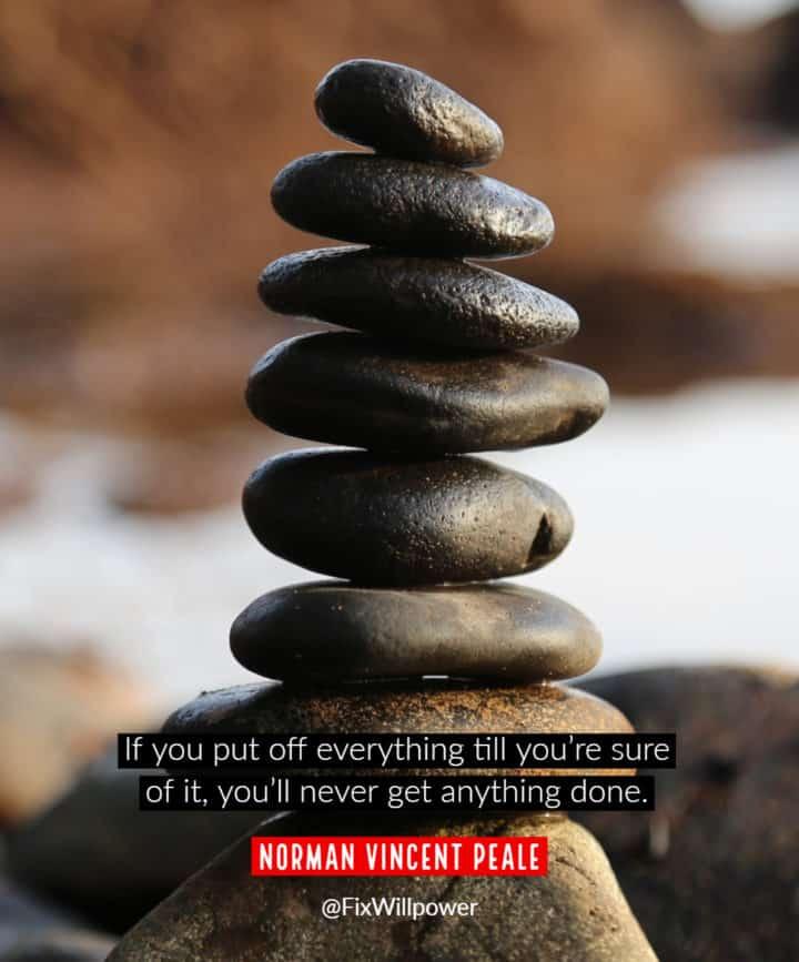 procrastination quotes Peale