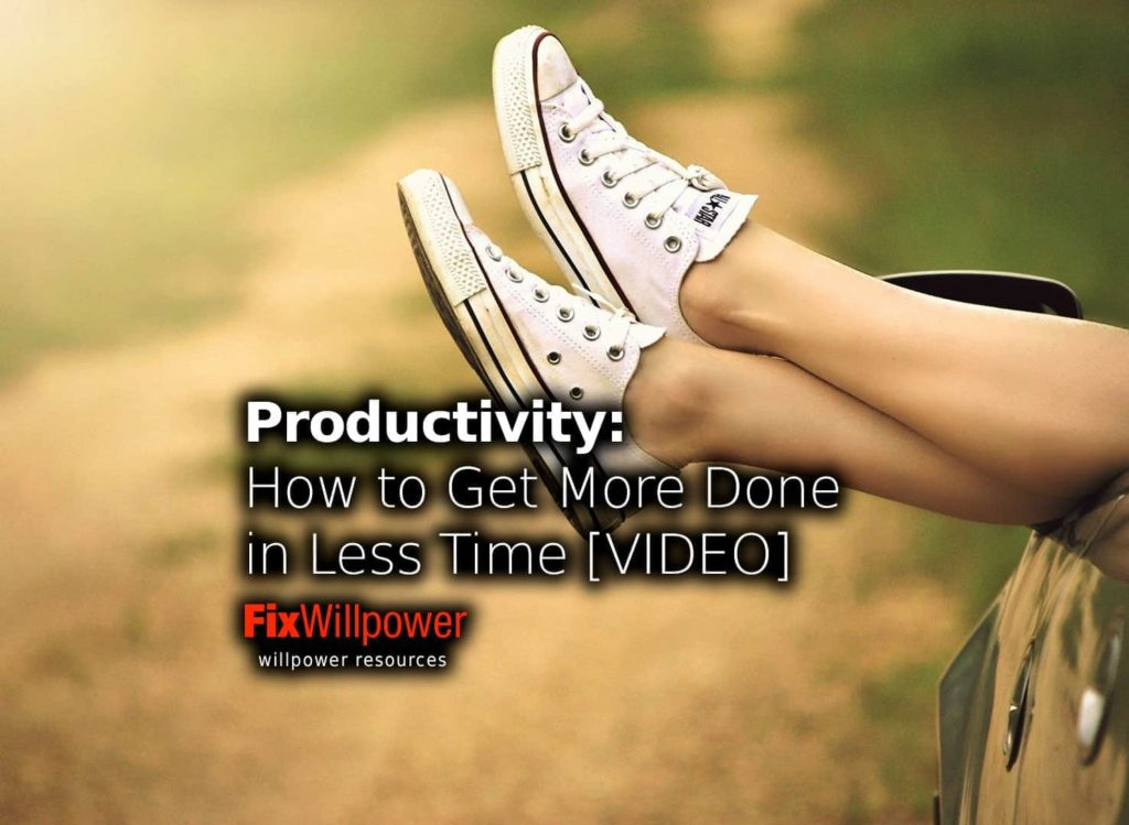 productivity get more done