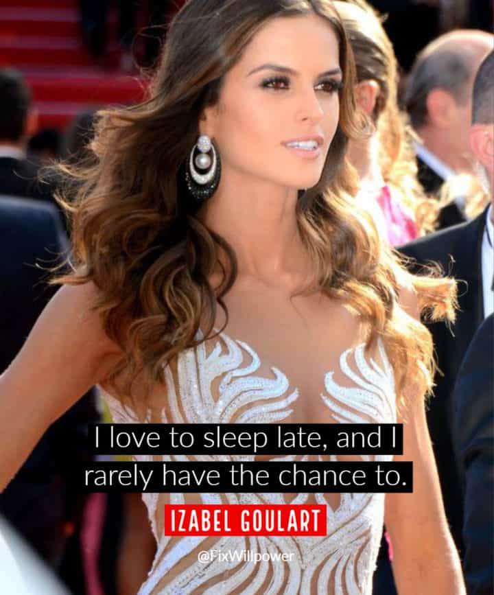 sleep late quotes Goulart