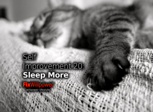 sleep more