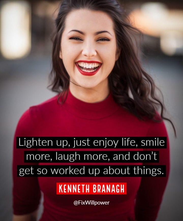 smile quotes Branagh