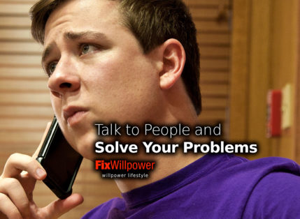 Talk to People! The Only Way to Solve Your Problems