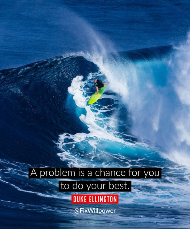 solving problems quote ellington