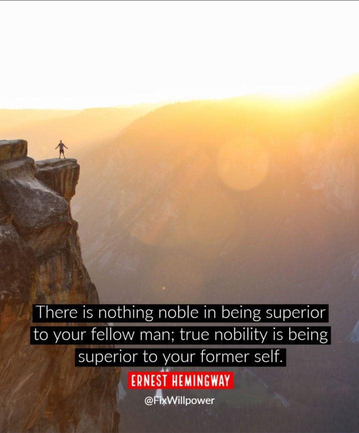 success quote hemingway