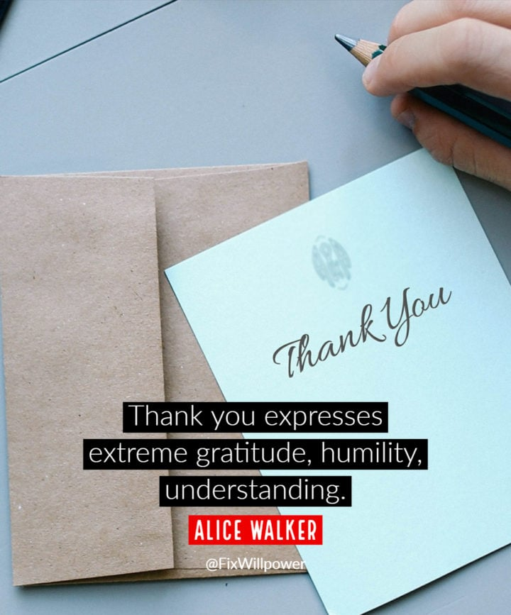 thank you quote Walker
