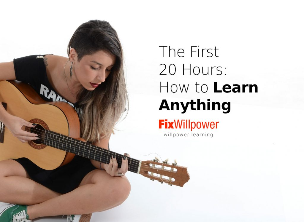 first 20 hours how to learn anything