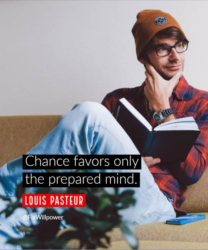 thinking quotes Pasteur
