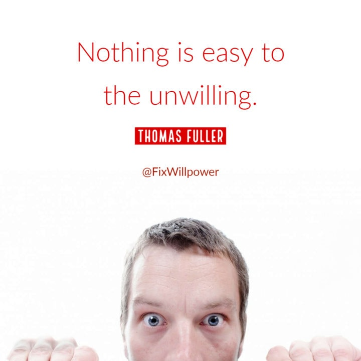 Thomas Fuller willpower quote